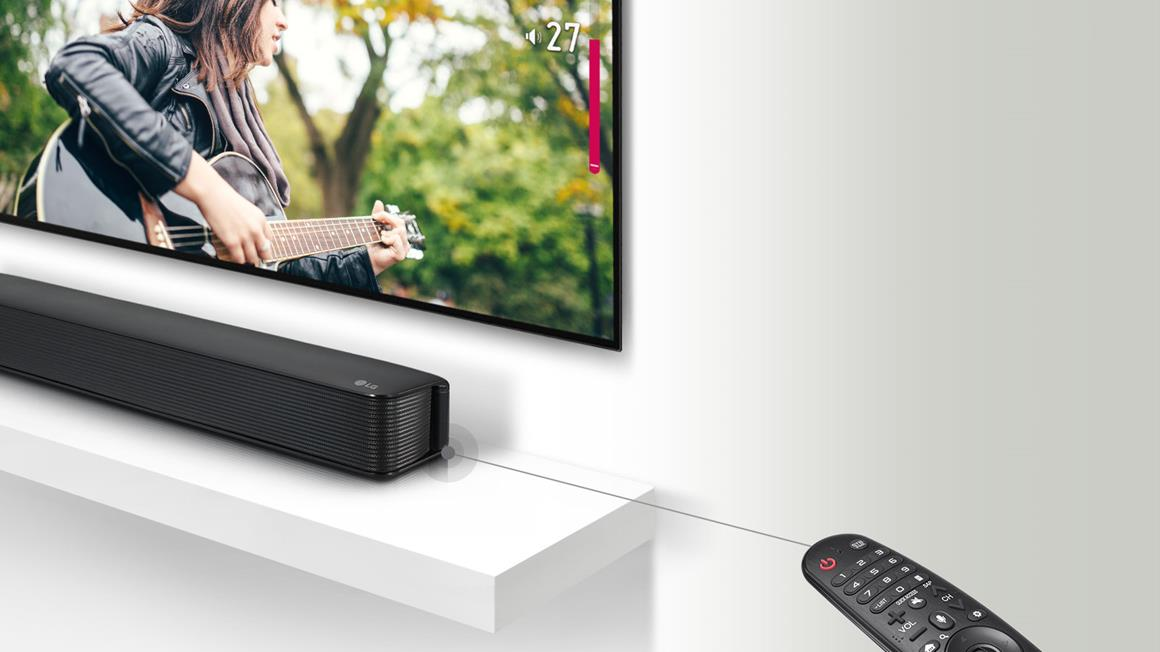 LG SK1 2 0 CH Compact Soundbar | BazarFX