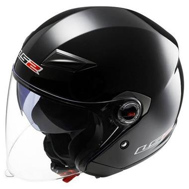 4596a4c3 Open Face LS2 Helmets 569-3013 Track Solid Open Face Helmet | BazarFX