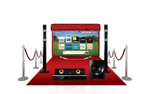 LG BH6340H 5 1 Channel 3D Blu-Ray Home Theatre System | BazarFX